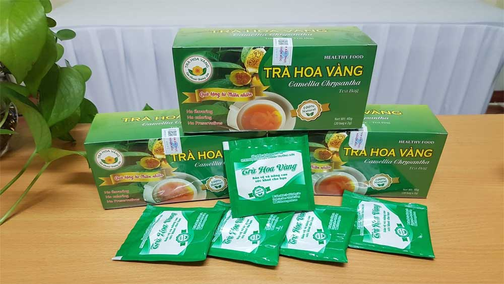 Bac Giang ,  outstanding rural industrial product, yellow-flower tea