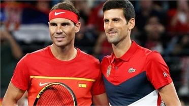 Djokovic và Nadal so tài ở ATP Cup