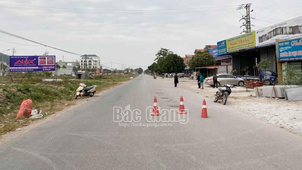 Bắc Giang: Hai xe mô tô va chạm, một người tử vong
