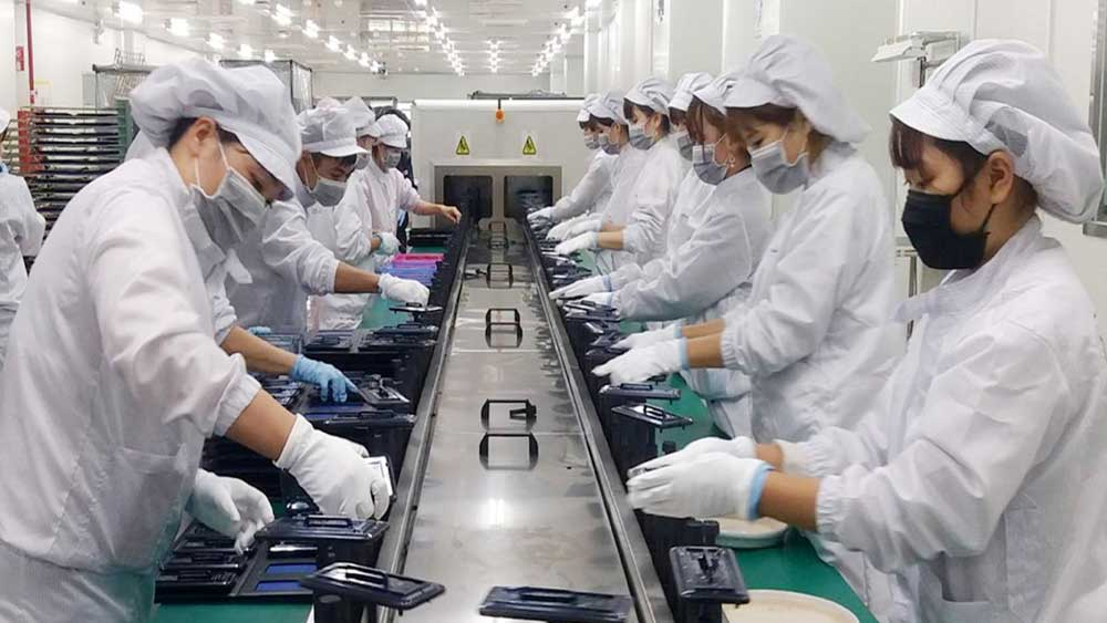 Bac Giang: Average monthly salary in enterprises reaches over 7.2 million VND per person