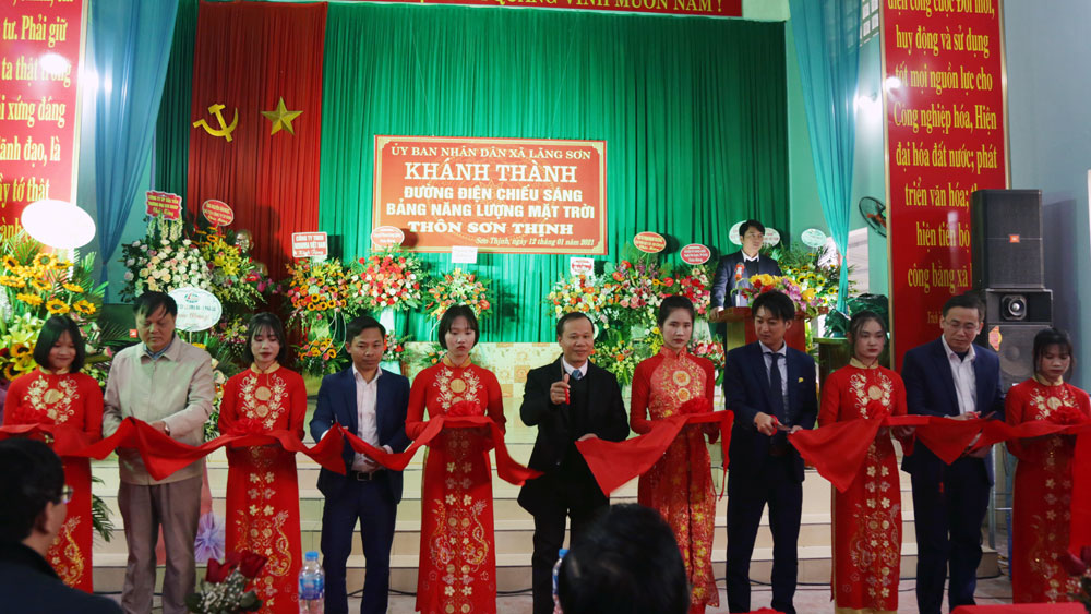 Bắc Giang, Yên Dũng, điện năng lượng mặt trời, Lãng Sơn