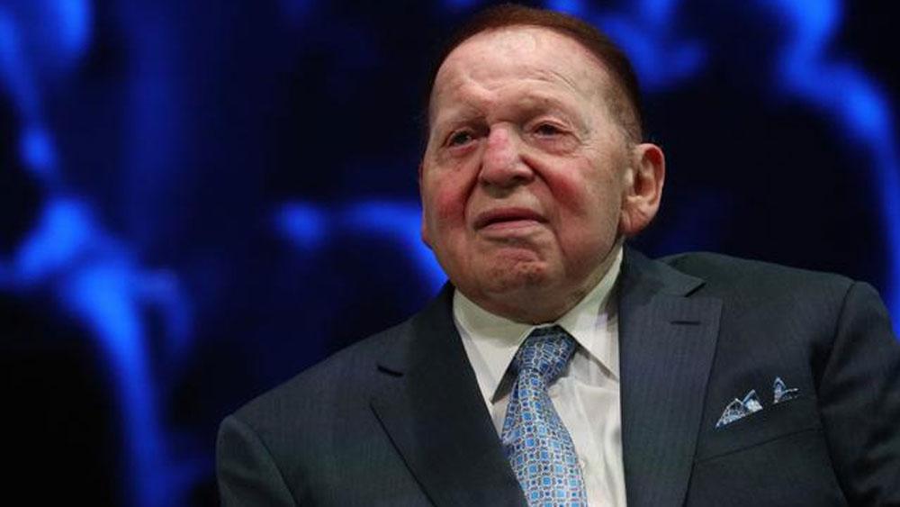 tỷ phú,casino,Las Vegas Sands,Sheldon Adelson,sòng bài