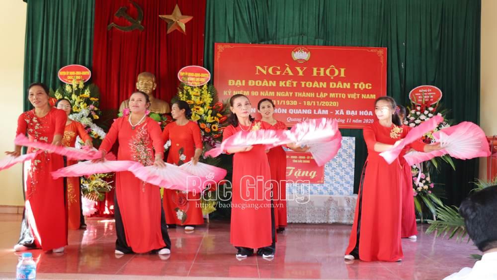 Tân Yên: Số thôn, tổ dân phố đạt danh hiệu văn hóa hằng năm tăng