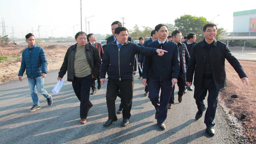 Secretary of provincial Party Committee Duong Van Thai, obstacles, completing projects