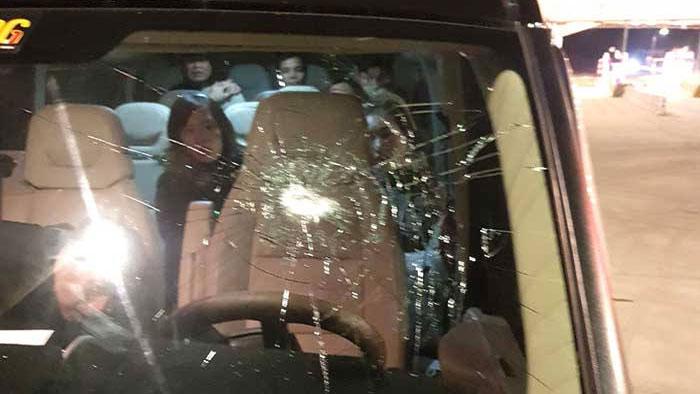 Tìm ra 5 đối tượng ném đá vào ô tô trên cao tốc Bắc Giang-Lạng Sơn