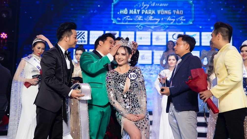 """""""Tân Hoa hậu"""" tố cáo, cuộc thi """"Hoa hậu Doanh nhân sắc đẹp Việt"""" bị xử phạt"""