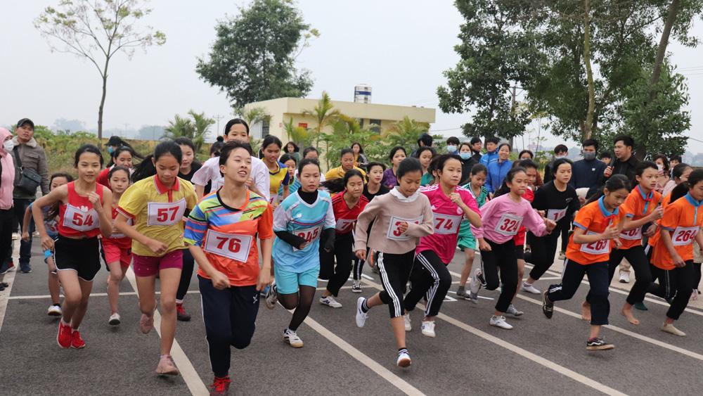 Lạng Giang: 315 vận động viên tham gia Giải Việt dã lần thứ 42