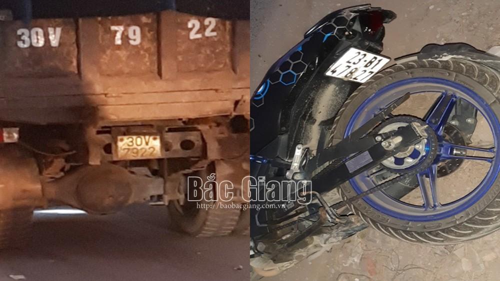 Bắc Giang: Ô tô và xe máy va chạm tại đường gom dân sinh, một công nhân tử vong