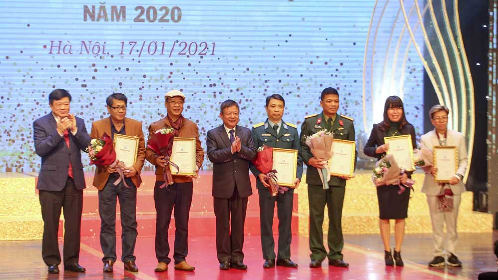 78 tác phẩm được trao Giải thưởng Âm nhạc Việt Nam năm 2020