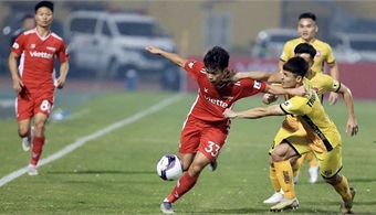V.League 1-2021: Defending champions Viettel slump to 1-0 defeat to Hai Phong