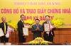 Bắc Giang: Trao giấy chứng nhận đăng ký đầu tư cho 4 dự án FDI trị giá gần 13 nghìn tỷ đồng