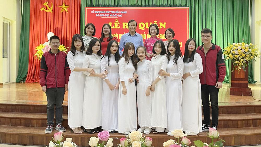 thi học sinh giỏi, Bắc Giang, giáo dục, Chuyên Bắc Giang, năm học 2020-2021.