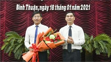 Ông Lê Tuấn Phong được bầu giữ chức vụ Chủ tịch UBND tỉnh Bình Thuận
