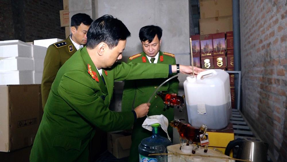 Cục Cảnh sát PCTP về môi trường,Quản lý thị trường thành phố Hà Nội,rượu giả