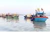 Nghệ An: Tàu chở dầu chìm ở cảng cá, khẩn trương xử lý vệt dầu loang