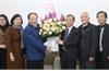 Chủ tịch Ủy ban MTTQ tỉnh Bắc Giang Trần Công Thắng chúc Tết Giáo xứ Bắc Giang
