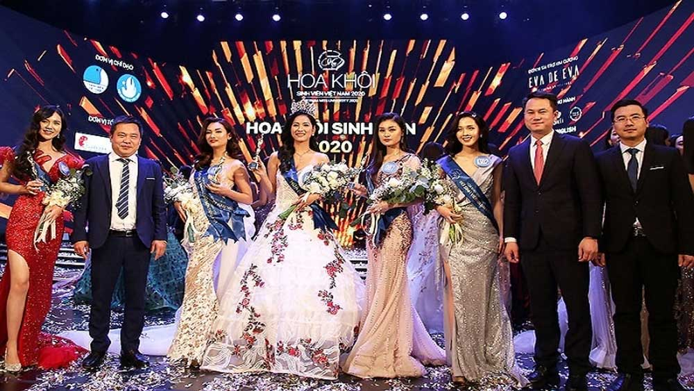 Can Tho student, Vietnam Miss University 2020 crown,
