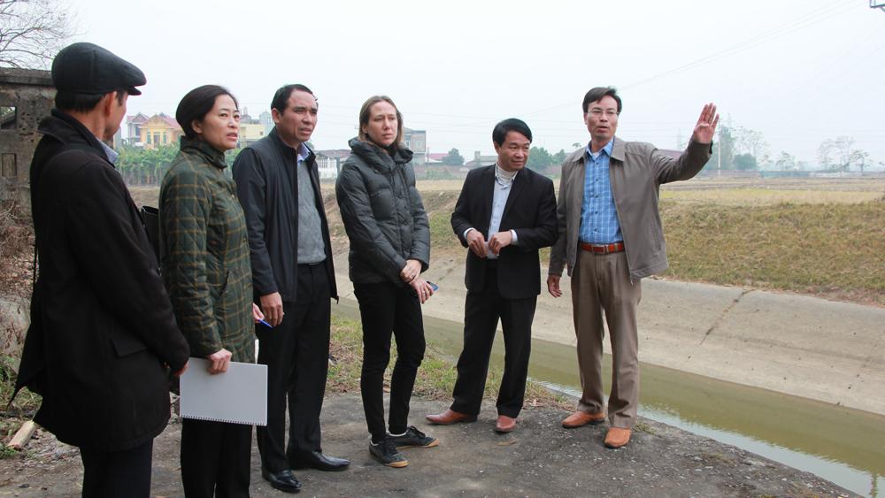 Bắc Giang đề xuất Ngân hàng Phát triển châu Á tài trợ vốn cho một số dự án thủy lợi