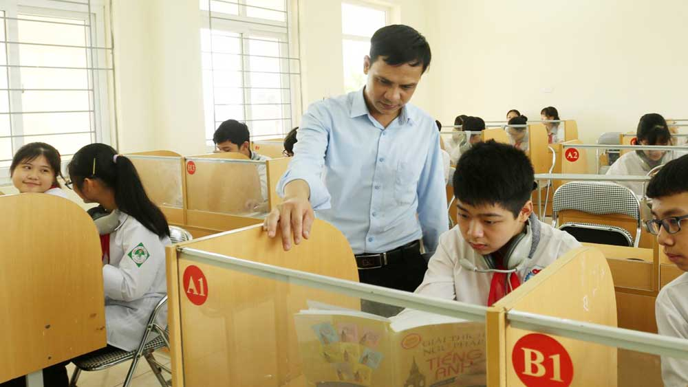 Thang Township Junior High School adopts innovative methods in English language teaching