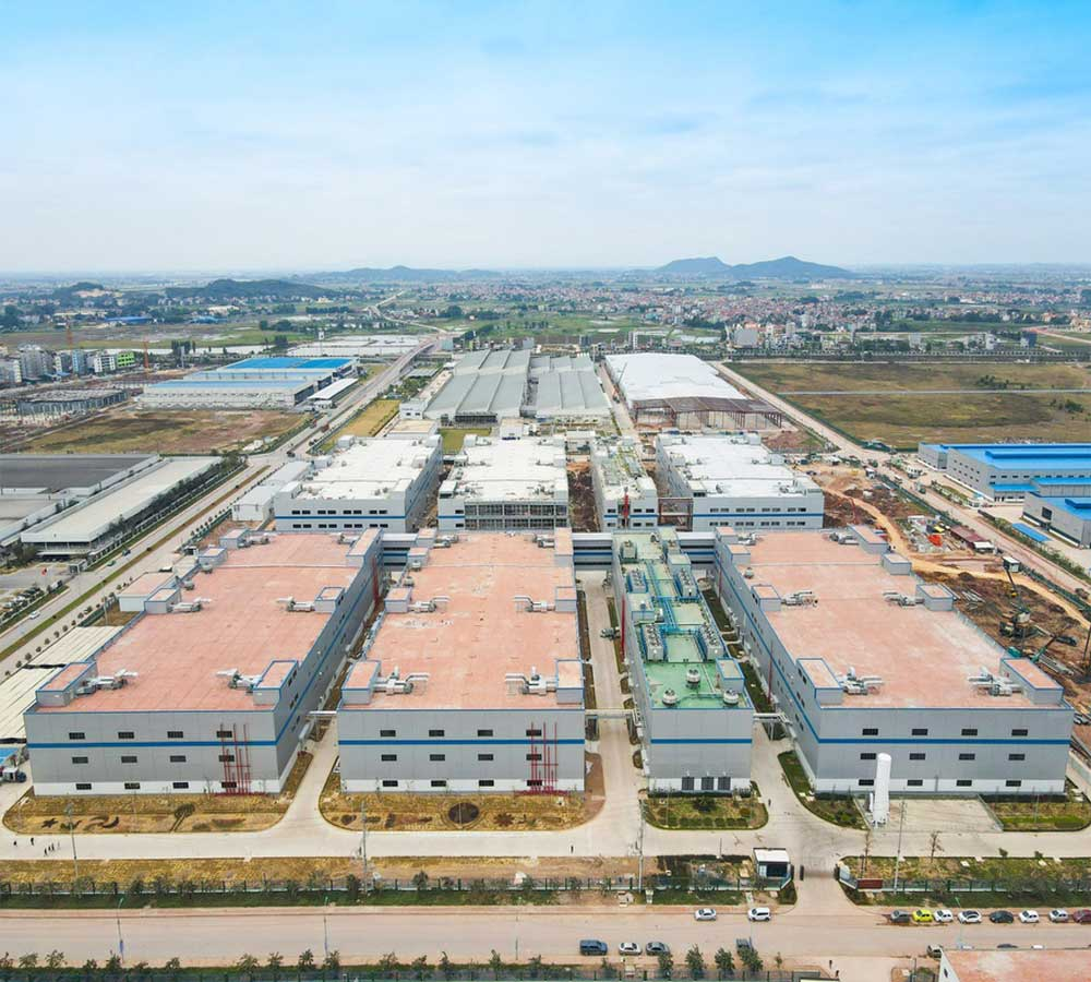 Bac Giang , Apple product manufacturing center,