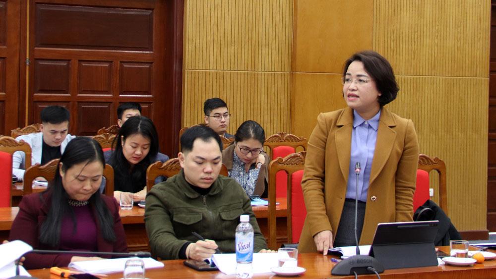 Bắc Giang, Bộ Nội vụ, cải cách hành chính, Sở Nội vụ, chỉ số cải cách hành chính