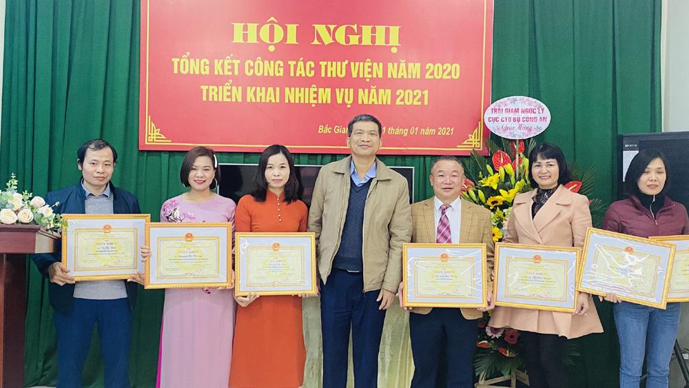 Bắc Giang: Tiếp tục quan tâm phát triển văn hóa đọc trong cộng đồng