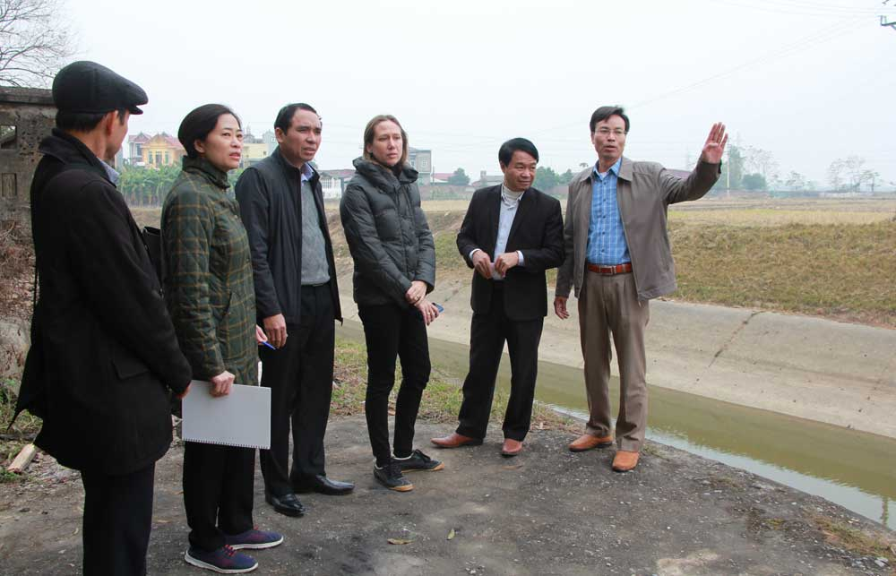 Bac Giang,  ADB finance, several irrigation projects