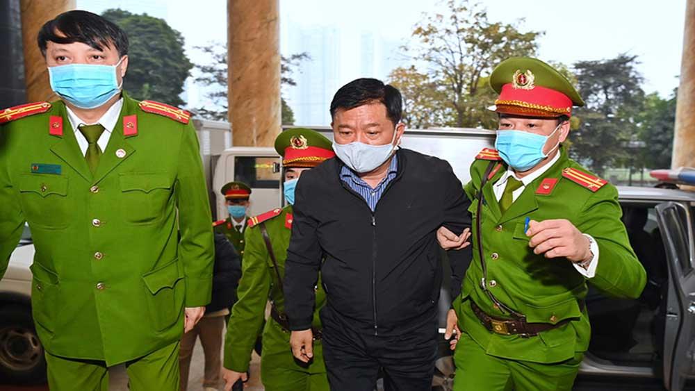 Ông Đinh La Thăng tiếp tục hầu toà