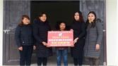 Trao 6 nhà tình thương cho phụ nữ nghèo huyện Sơn Động
