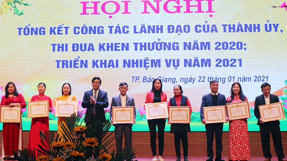 Thành ủy Bắc Giang, Bắc Giang, tổng kết 2022