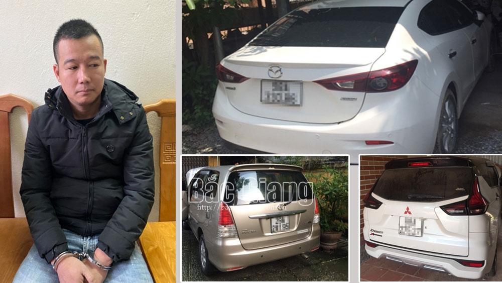 Bắc Giang: Gã trai giăng bẫy lừa đảo, chiếm đoạt 12 ô tô