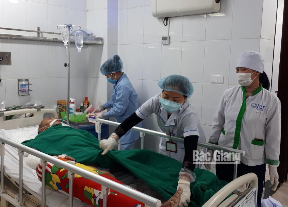 nam bệnh nhân vô danh, cần được giúp đỡ, Bệnh viện Đa khoa tỉnh Bắc Giang