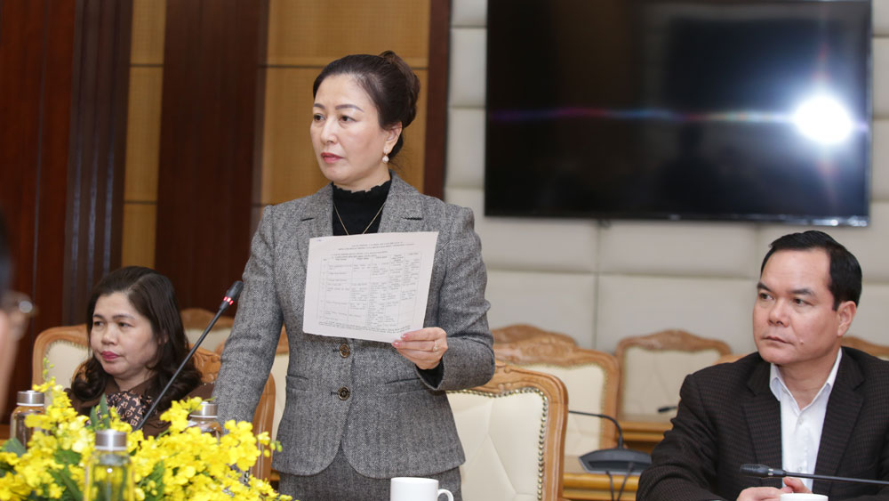 Bắc Giang, gặp mặt, đại biểu, dự Đại hội XIII của Đảng