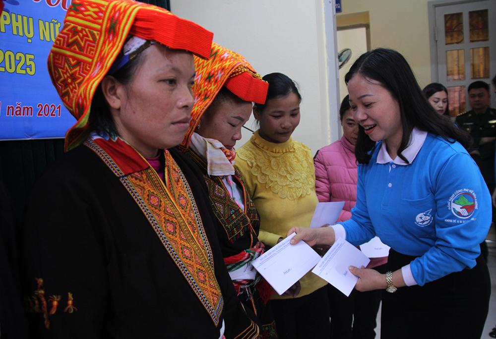 Bắc Giang, đồng hành cùng phụ nữ biên cương, Lạng Sơn, phụ nữ.