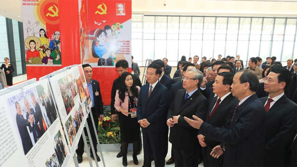 Stamp and exhibitions welcome 13th National Party Congress
