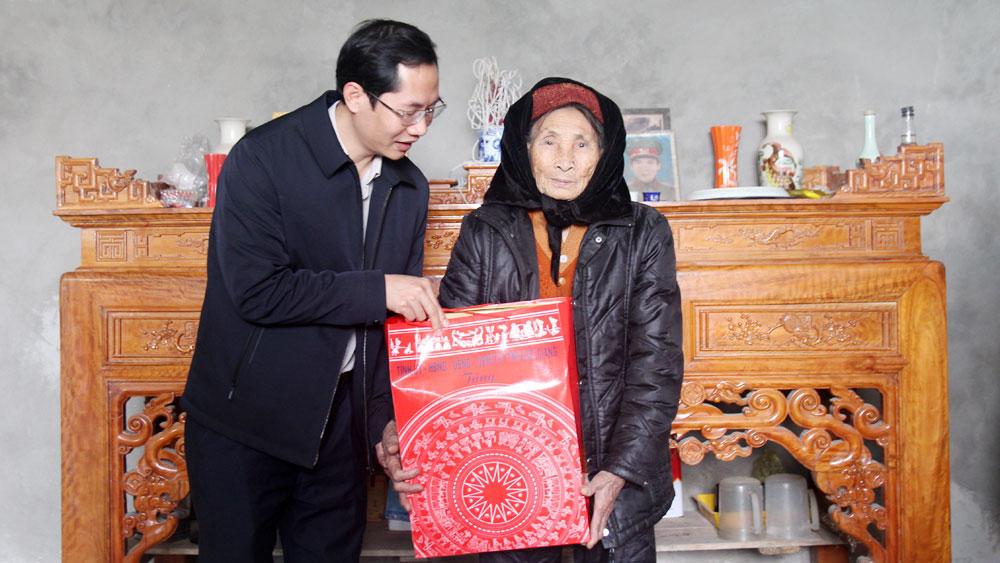 Mai Sơn, Bắc Giang, Hiệp Hòa, Tết Nguyên đán, Tân Sửu, tặng quà, người nghèo