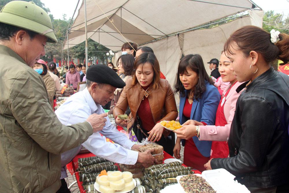 bánh chưng Vân, Bánh chưng Hiệp Hòa, Ngày hội bánh chưng Hiệp Hòa, Tết sum vầy, Hiệp Hòa, Bắc Giang, đặc sản quê hương
