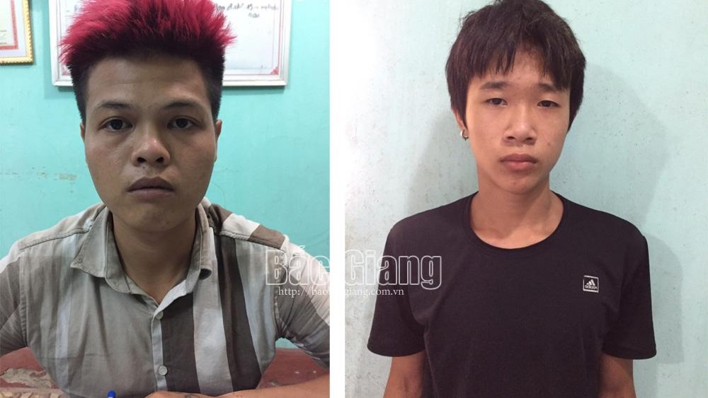 Bắc Giang: Bắt giữ hai anh em họ bị truy nã toàn quốc