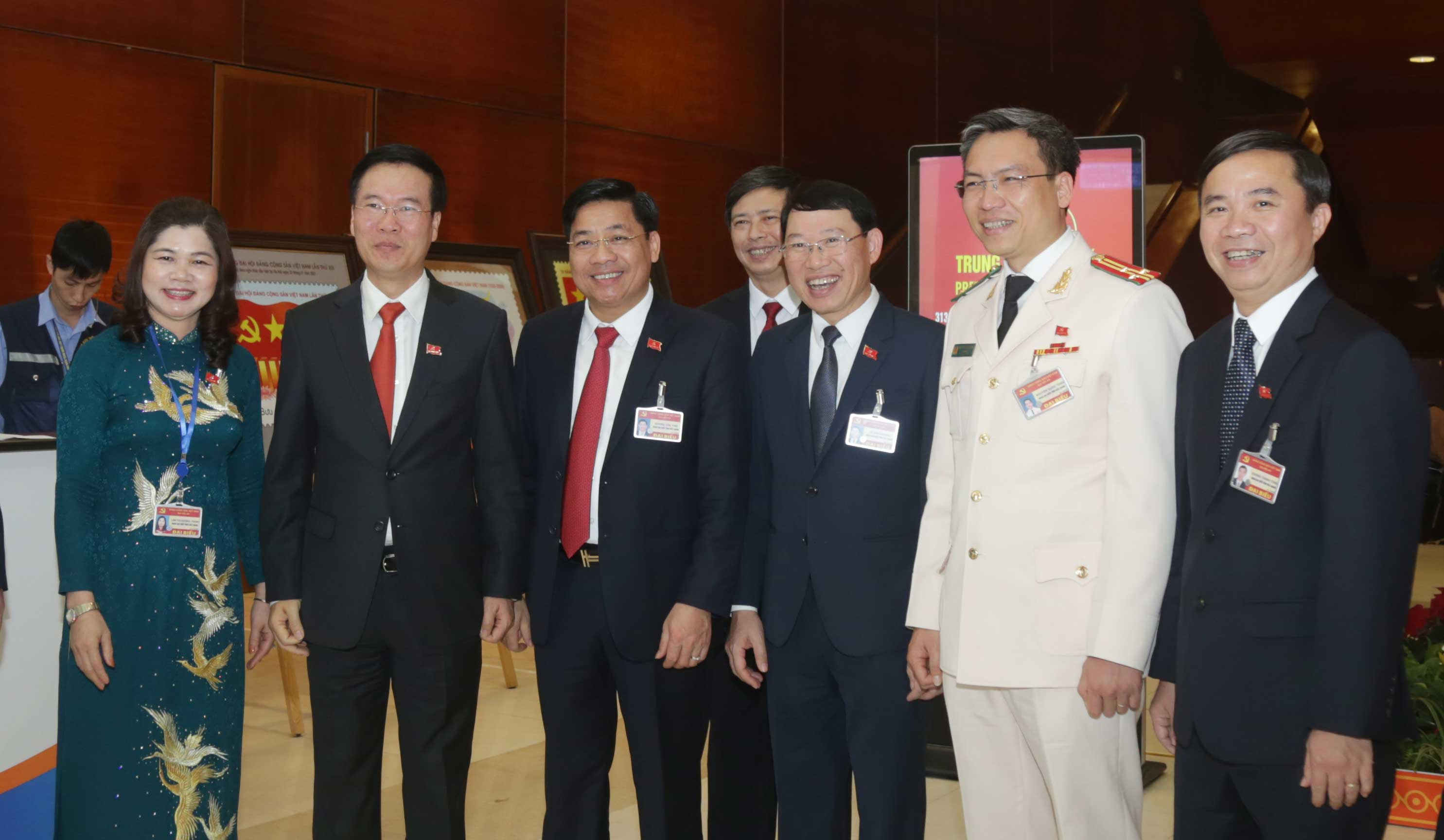 Đại hội XIII, đoàn Bắc Giang, phiên khai mạc