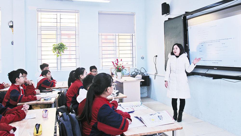 Ngành Giáo dục, Bắc Giang, đẩy mạnh, chuyên môn, quản lý, tổ chức, giảng dạy, năng lực, sáng tạo, bắc giang