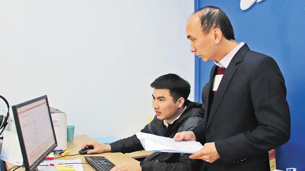 hệ thống, thông tin, báo cáo, Bắc Giang, chính thức, vận hành, chỉ đạo, điều hành, thông tin, số liệu