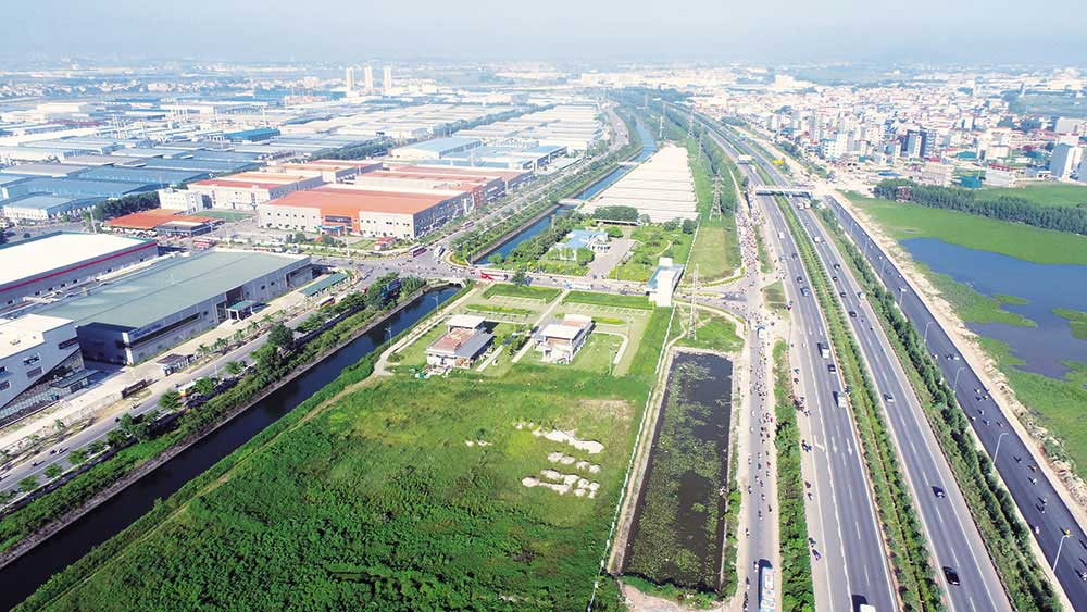 Bac Giang, industrial parks, new investment waves