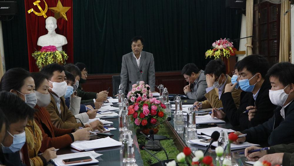 Lục Ngạn: Tập trung rà soát, nắm bắt đối tượng từ Trung Quốc về địa phương
