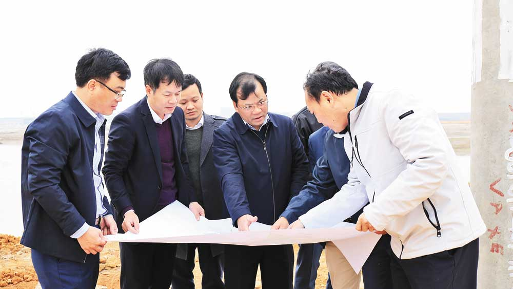 Bac Giang accompanies investors to soon put projects into operation