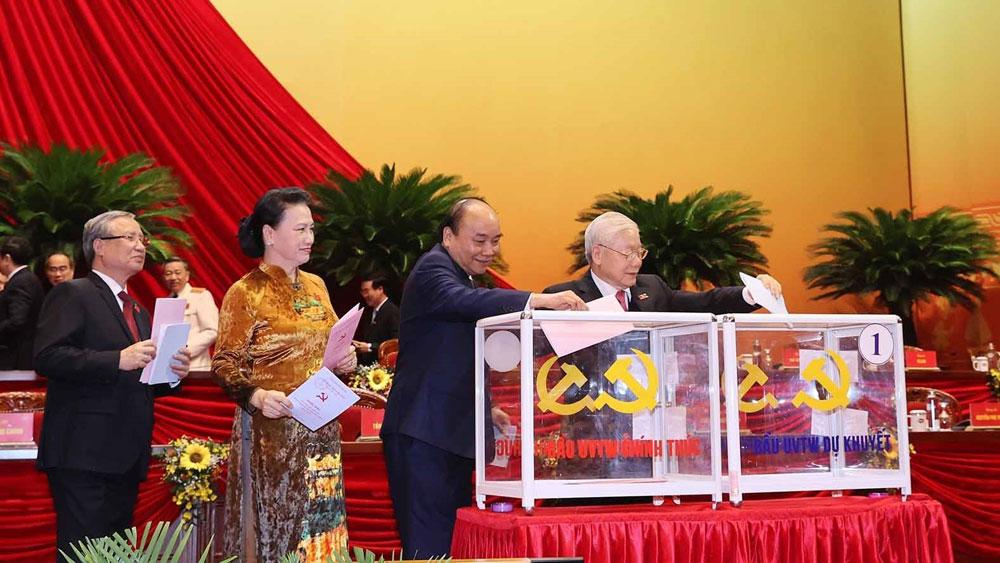 Thông cáo báo chí về ngày làm việc thứ năm Đại hội XIII - Đại hội sẽ bế mạc ngày 1/2/2021