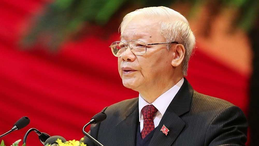 Party chief, Prime Minister reelected for new Party Central Committee term