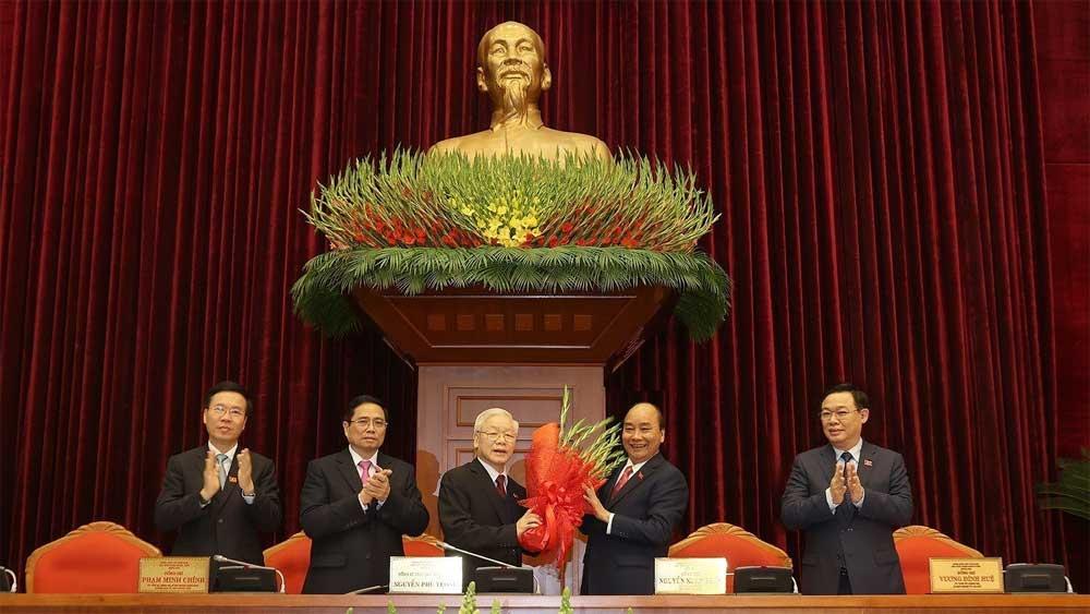 Đồng chí Nguyễn Phú Trọng được bầu làm Tổng Bí thư BCH Trung ương Đảng Cộng sản Việt Nam khóa XIII