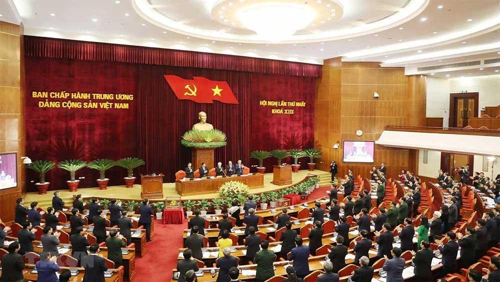 Hội nghị lần thứ Nhất BCH Trung ương Đảng khóa XIII - Bầu Bộ Chính trị, Ban Bí thư, Ủy ban Kiểm tra Trung ương
