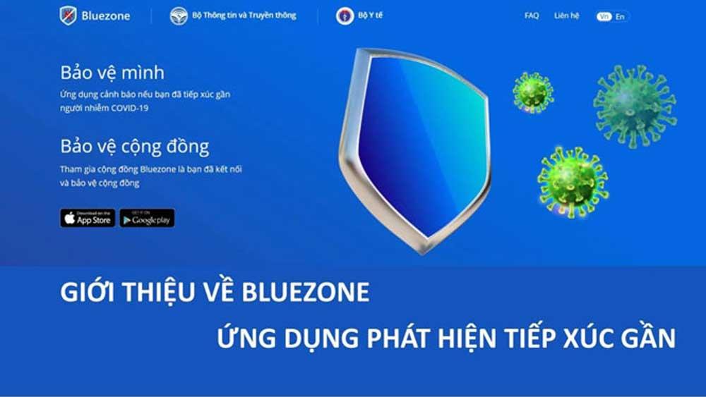 Trung bình 32.000-40.000 lượt cài đặt Bluezone mỗi giờ