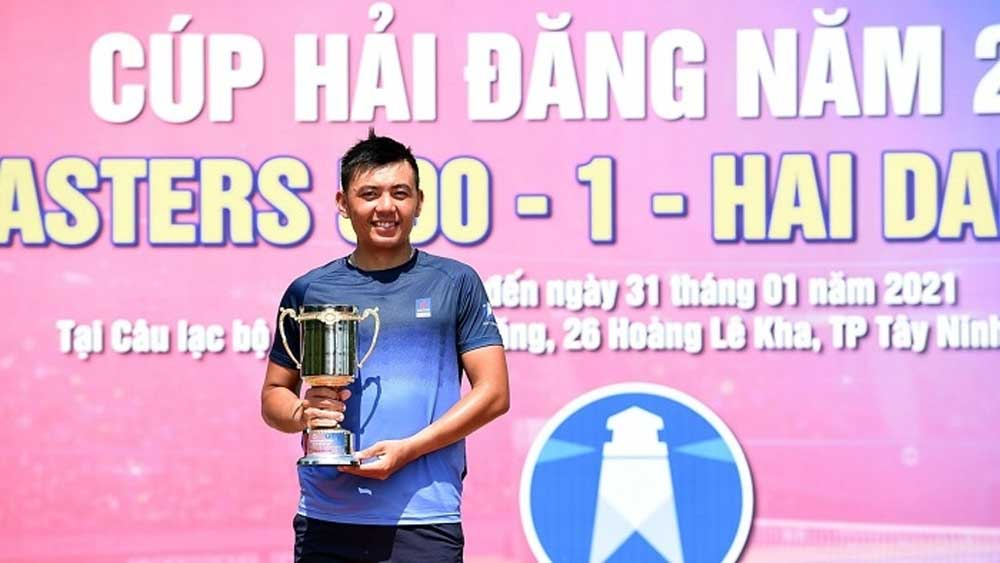 Hoang Nam dominates 2021 National Tennis Championship